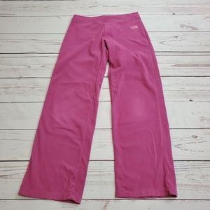 The North Face Fleece Pink Pants Size S